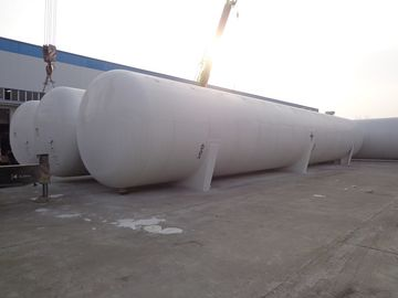 China ASME 200cbm Transporting Large Propane Tanks , SA516 Bulk Truck Fuel Tanks supplier