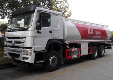 China Petrol Diesel Tank Fuel Delivery Truck 20 Ton 25000 Liters High Performance supplier
