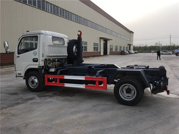 China 4 Ton-5 Ton Hooklift Arm Waste Removal Trucks Garbage Container Pulling Dongfeng supplier