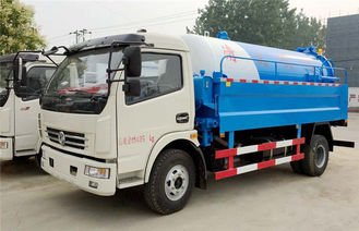 Dongfeng 3m3-5m3 High Pressure Jetting Sewage Suction Truck Sewer Cleaning