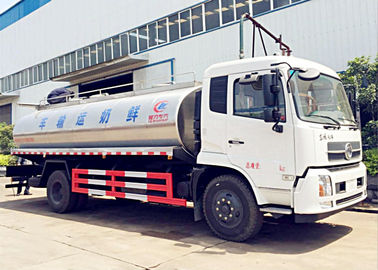 DONGFENG 10cbm Milk Tank Truck and Trailers Milk Tanker Delivery transport Truck