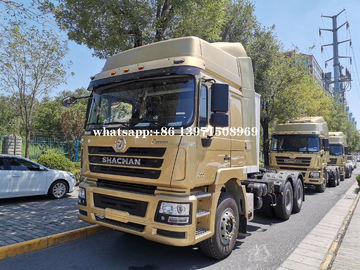 China Shacman F3000 6*4 10 Wheels Prime Mover Crane Truck 70T Haulage Capacity supplier