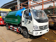 Sewage Suction Cleaning Truck 5000 Liters Dust Tank With 2000 Liters High Pressure Water Tank