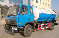10000liters Sewage Cleaning Tank Truck for Urban Septic Sewage Suction Vehicle Fecal Sucking Truck