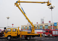 Telescopic Type Aerial Lift Platform Truck / Truck Mounted Boom Lift Vehicle