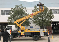 Straight Arm Manlift Telescopic Type Bucket Boom Aerial Lift Truck 18m 20m 22m