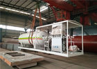 China Mini Skid Cooking Gas LPG Gas Storage Tank 5mt 5 Tons With Filling Dispenser Machine factory
