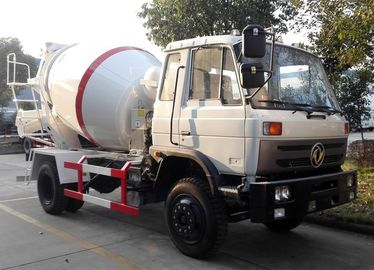 China Self Loading Ready Mix Concrete Mixer Trucks Dongfeng Cummins Mobile Concrete Mixer Truck factory