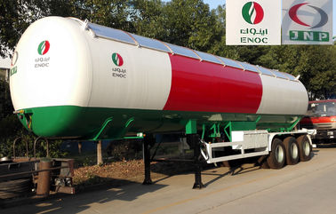 56000 Liters Transport LPG Gas Tanker Truck 25T Large Scale Crude Oil Tanker Truck