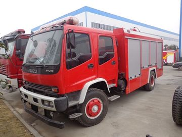 China ISUZU 8 Tons Fire Fighter Fire Brigade Truck 8cbm With Big Water Tank factory