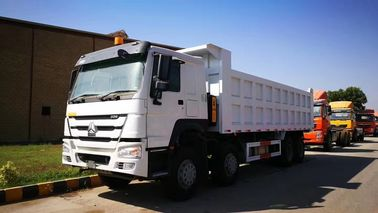 China Howo 40 Ton Construction Heavy Duty Dump Truck 8X4 371hp Front Tipping factory