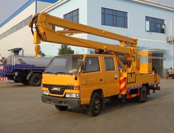 China High Altitude Operation Aerial Truck Equipment , JMC 14 Meters Elevating Platform Truck factory