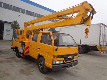 China JMC 4 X 2 Aerial Lift Truck , 16 Meters High Aerial Work Platform Truck factory