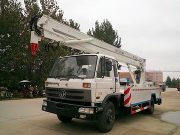 China Dongfeng 170hp 20M Aerial Lift Truck , Aerial Platform Truck With 360 Degree Rotation Arms factory
