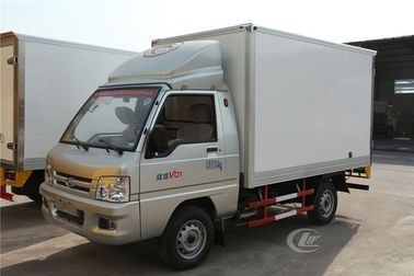 China Forland Freezer Delivery Truck , 1 Ton Fresh Vegetable Cooling Refrigerated Van Truck distributor