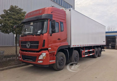 China Dongfeng Commercial Refrigerated Box Truck 12 Wheel 245hp 20 Ton -18 ℃  Degree distributor