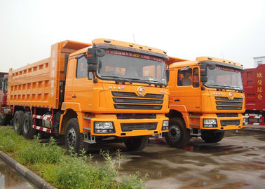 China 6 X 4 Shacman 10 Wheel Dump Truck , Heavy Equipment Dump Truck For Mineral factory