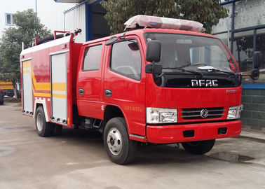 China 4 Tons 4CBM Water Foam Fire Brigade Truck Good Performance SGS Certification distributor