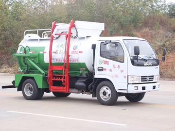 China Kitchen Restaurant Waste Removal Trucks Hydraulic Self Loading & Discharging factory