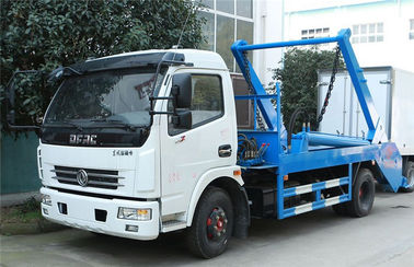 China Swing Arm Garbage Waste Removal Trucks Carbon Steel Waste Transport With 5CBM Hopper distributor