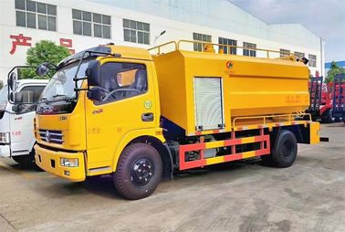 China Combined Jetting & Vacuum Sewage Suction Truck For Sewer Cleaning High Pressure factory