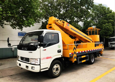 China Dongfeng 20m Aerial Platform Truck , High Altitude Platform Bucket Lift Truck distributor