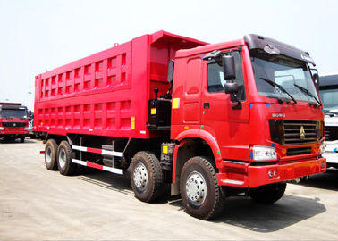 China Sinotruk HOWO 50 Tons 8*4 Dump Tipper Truck For Mineral Material Transportation distributor