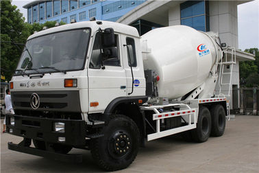 China Dongfeng 6x4 Carbon Steel 10CBM Concrete Mixer Truck For Construction Project distributor