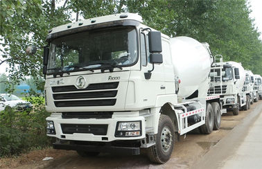 China SHACMAN 12CBM Small Concrete Mixer Truck Machine For Ready Mix Transporter distributor