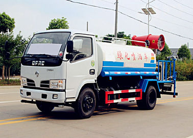 China 5Ton Dongfeng 4*2 Water Bowser Truck With Sprayer,5000 Liter Spray Dust Fall Truck distributor