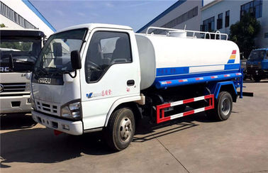 China ISUZU EURO 4 120HP Water Bowser Truck Q235 Carbon Steel 5000 Liters distributor