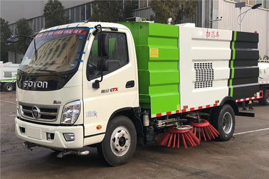 China FOTON Stainless Steel Dust Cleaning Road Sweeper Truck For Highway and Airport factory