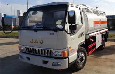 China JAC 4x2 5000 Liters Mobile Oil Dispenser Truck Fuel Refueling Truck For 2 People factory