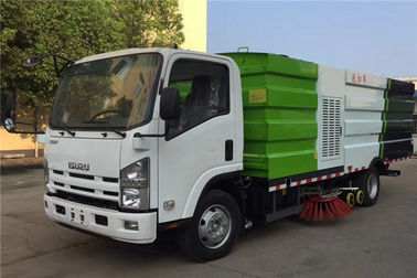 China ISUZU 4x2 Stainless Steel Road Sweeper Street Sweeper Street Cleaning Machine Sweeper Truck distributor