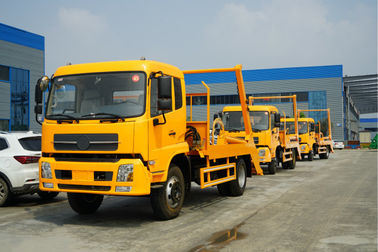 China 8 Cbm 4*2 Swept Body Garbage Collector Truck 6 Ton Waste Removal And Transport Truck distributor