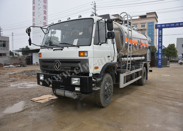 Aviation Kerosene Fuel Dispenser Truck , 10 Tons Gas Delivery Truck Customized LOGO Design