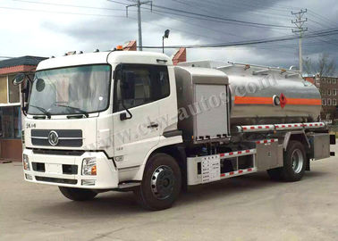 China Helicopter Refueling Fuel Oil Delivery Truck , 5CBM Gasoline Tanker Truck distributor