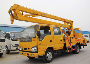 China 18 Meter 20 Meters 22 Meters Aerial Lift Truck Overhead Working Bucket Boom Truck Hydraulic Lift distributor
