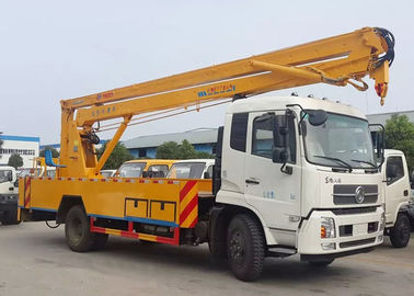 China High Altitude Operation Truck / 20 Meter Skylift Telescopic Boom Aerial Manlift Bucket Truck distributor