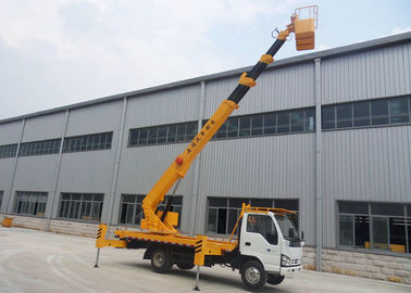 China High Lifting Platform Truck Working Platform Isuzu 18m 20m 22m Hydraulic Aerial Lift Platform distributor
