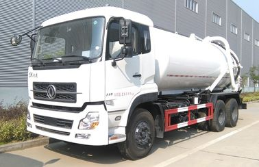 China Dongfeng 18cbm 18000 Liters Road Cleaning Truck 18t 20 Tons Fecal Sewage Suction Truck factory