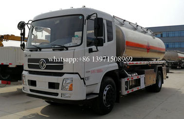 China 15000 Liters Water Bowser Truck Stainless Steel / Aluminum Alloy Tanker distributor