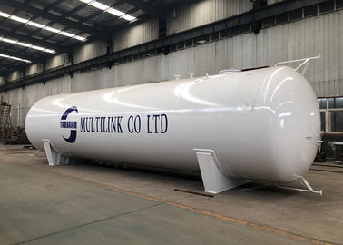 China White 60000 Litres LPG Truck Tanker , Large Propane Gas Tanks Long Life Time factory