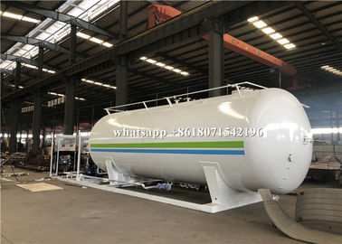 China 30000L Mobile Filling LPG Gas Storage Tank 1.71Mpa Design With 2 Filling Dispenser distributor