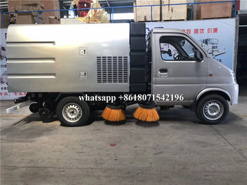 China Small Size Mechanical Sweeper Truck 2600mm Wheelbase For City Sanitation factory