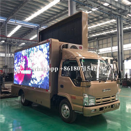 China Mobile Advertising LED Scrolling Billboard Truck 5995×2190×3300mm For Road Show distributor