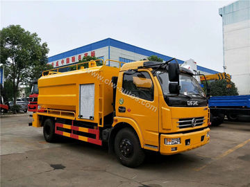 China Dongfeng 8000liters Sewage Suction Truck Combined with Sewer Jetting Cleaning Truck distributor